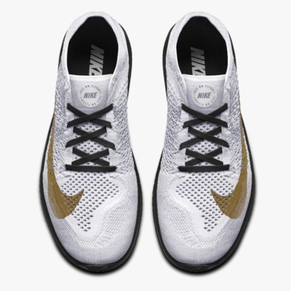 new style e2bc7 4ff98 NIB Men s Nike ID Free RN Flyknit - 9.5